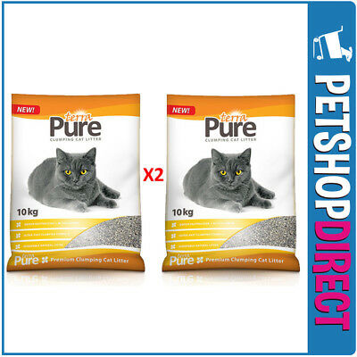 Cat Litter Clumping 2 x 10Kg BULK BAGS (20KG) - SYDNEY DELIVERY ONLY -