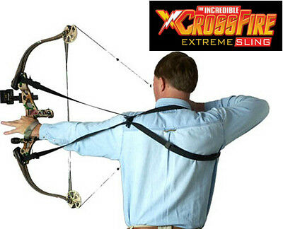 Crossfire Extreme Sling/Rifle/gun/crossbow/archery ''easy to use sling''
