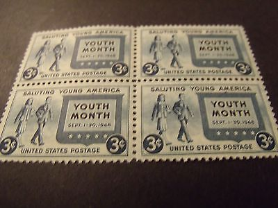 US Postage Stamps 1948 Saluting Young America Youth Month  Scott 963 4- 3 Cent