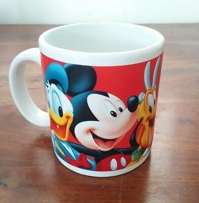 Disney Mug Florida Donald Duck Mickey Mouse Pluto Goofy Minnie Mouse