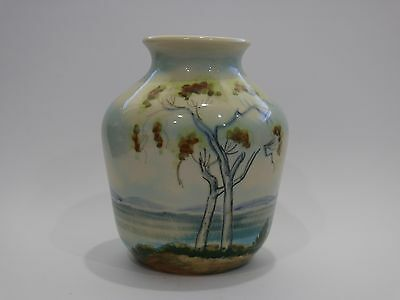 Vintage Hand Painted Diana Pottery Vase