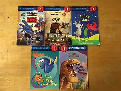 Lot Of 5 Level 1 Children's Books #5092 FREE SHIPPING