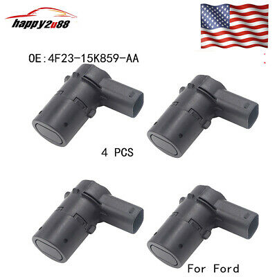4pc  4F23-15K859-AA Bumper Backup Parking Sensor 4F23-15K859-AA For Ford Escape