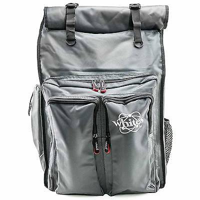 Signature Series Rolltop Backpack for Whites Metal Detector & accessories