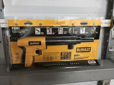 Dewalt P2201 .22 Caliber Single Shot Low Velocity Powder Actuated Fastening Tool