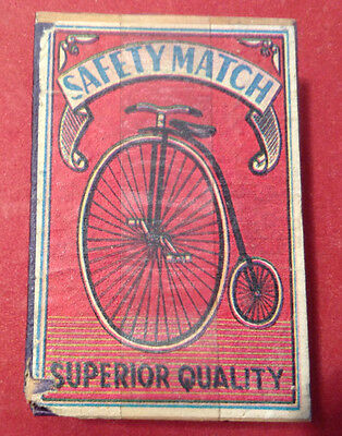 Vintage Box of Matches Safety Match Superior Quality Brand