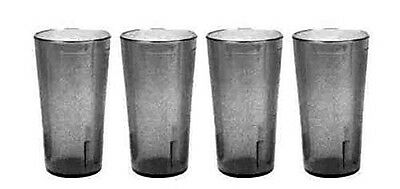 Clear Restaurant Break Resistant Drinking Glass Cups Platic Tumblers 32Oz 4 Pack
