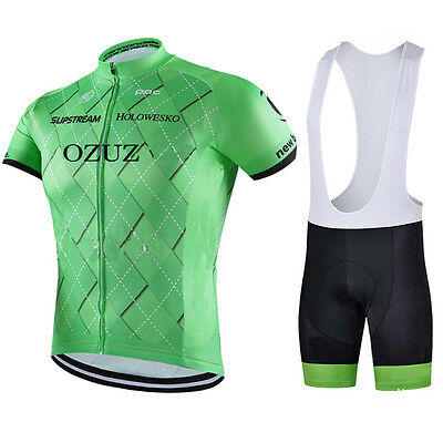 New MENS Cycling Jersey Lightweight Breathable Bicycle Short Sleeve Jersey Set