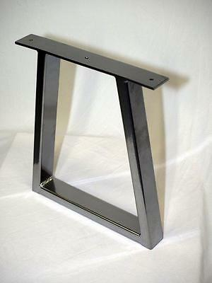 2 X Trapezium Style Table Legs Fantastic Quality, Made In The UK