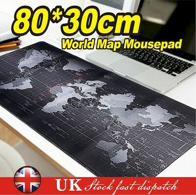 80x30CM Extra Large XL Gaming Mouse Pad Mat For Pc Laptop Macbook Anti-slip