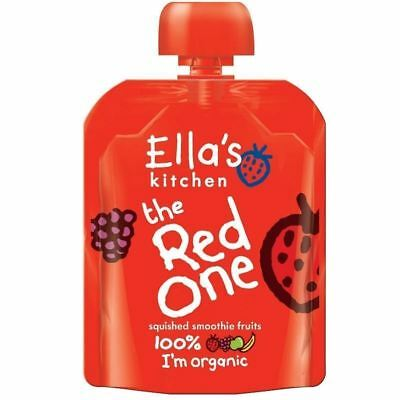 Ella's Kitchen The Red One 90g Pouch 1 2 3 6 Packs