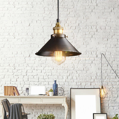 Vintage Industrial Pendant Retro Loft Home Ceiling Light Metal Lamp Fixture 1M