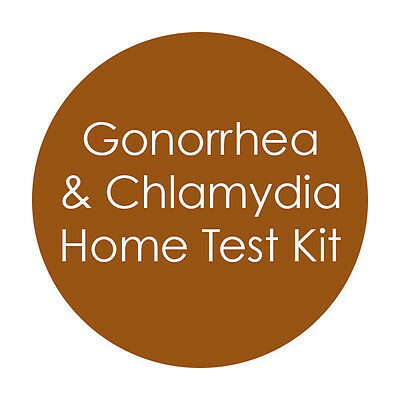 FEMALE CHLAMYDIA  & GONORRHEA CASSETTE Test STI STD PRIVATE LISTING