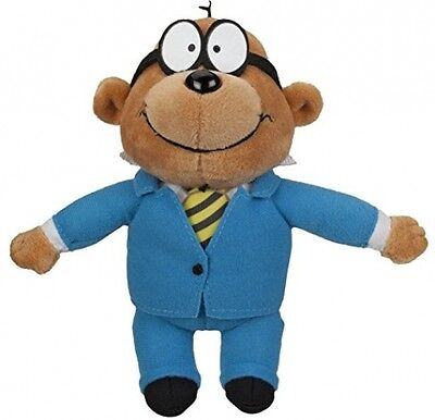 Danger Mouse 7inch Small Plush with sound - Penfold Baron Greenback Danger Mouse