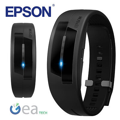 EPSON PULSENSE PS-100 M/L Braccialetto Fitness Heart Rate Activity Tracker NERO