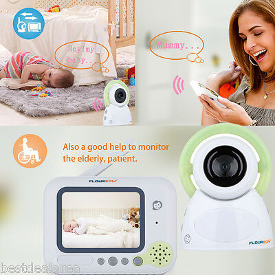 "3.2"" HD Baby Monitor Wireless Audio Video Night Vision 2 Way Talk Safe Camera"