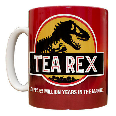 Tea Rex Mug Funny gift idea Jurassic Park movie novelty cup dinosaur film 185