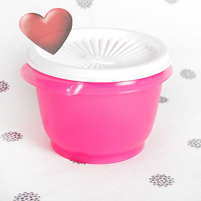 NEW Tupperware Servalier Canister in Pink Punch 600ml size