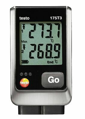 Testo 175 T3 (0572.1753) 2-Channel Temp Data Logger with External Type T & K