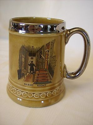 Lord Nelson Pottery England Honey Coloured Glazed Vintage Stein