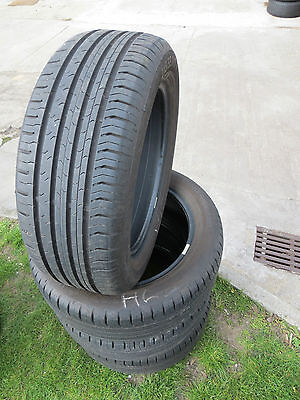 4 x 215/55 R17 94V  Sommerreifen Continental Conti Eco Contact 5  TOP  7mm