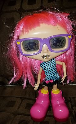 Chatsters Interactive Pink Hair Gabby Spin Master Talking Doll