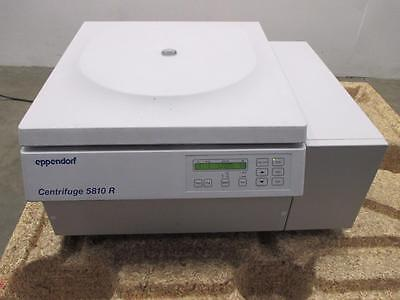 Eppendorf 5810 R 200-14000 RPM Refrigerated Centrifuge With Rotor F34-6-38