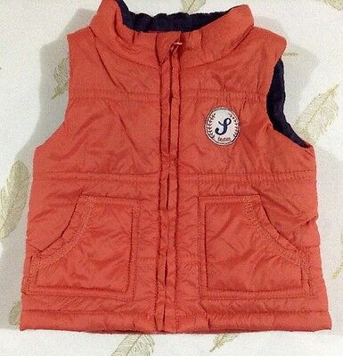 Sprout Baby Boys Puffer Vest Size 00