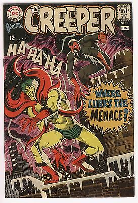 Beware The Creeper #1 Ditko Art Silver Age Key VF Beautiful Book