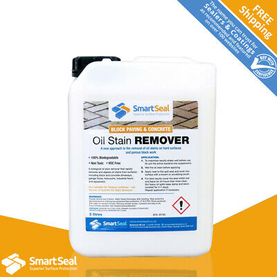 Professional Block Paving & Concrete Oil Stain Remover (contains live bacteria)