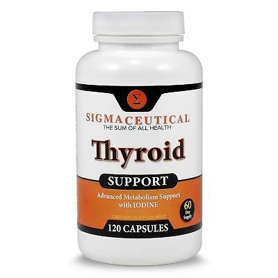 Thyroid Support Supplement - Iodine Supplement - Zinc and Selenium Supplement