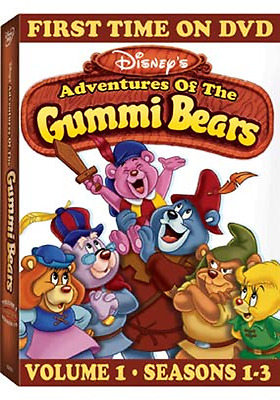 Adventures Of The Gummi Bears: Series Complete Volume 1 Seasons 1-3 Box/DVD Set