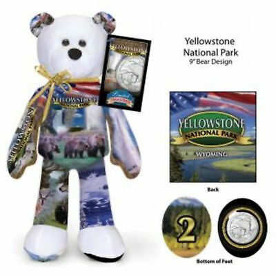 Yellowstone National Park and Wyoming Quarter Teddy bear set