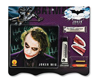 Joker Make-up Kit and Wig Costume Accessories