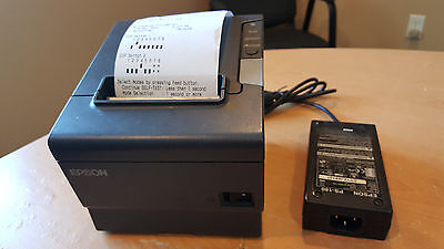 Epson TM-88V Thermal Printer - Wireless Interface, Power Supply Included