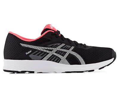 ASICS Women's Fuzor Shoe - Black/Snow/Diva Pink