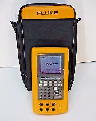 Fluke 743B Documenting Process Calibrator with Data Logging