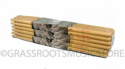 12-Pair BRICK VIC FIRTH® American Classic 5A Wood DRUM STICKS Hickory Bulk NEW