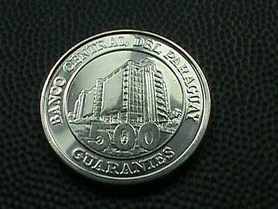 PARAGUAY    500  Guaranies    2007    BRILLIANT  UNCIRCULATED