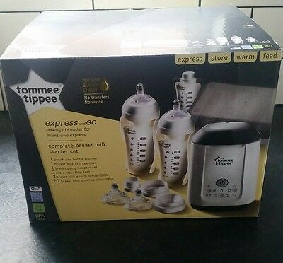 Tommee Tippee Express and Go Complete Kit- Brand New Boxed