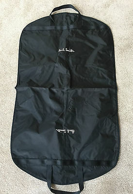 Paul Smith Black Suit/garment Carrier With White Signature - Brand New!!!