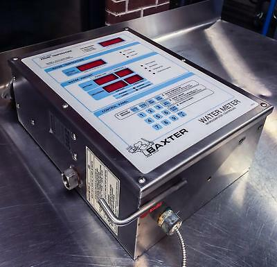 Baxter Hobart Sp600W Bakery Equipment Microcomputer Controlled Water Meter