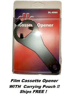 35 mm Film Cassette Opener #DL-6060 With Carrying Case  NEW  Ships FREE In USA !