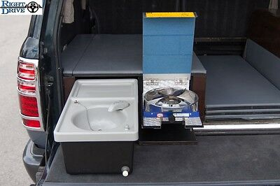 Portable Kitchen Sink and Stovetop Kit for 1990-1997 J80 Land Cruiser