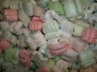 1 Cubic Foot Cu Ft Loose Fill Packing Peanuts Polystyrene Chips