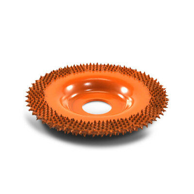 """4"""" Flat Face Grooving Disc FD4125 (Ex-Coarse Grit) 7/8"""" Bore"""