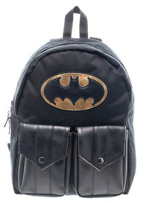 DC Comics BATMAN Logo Reversible All over Print Sublimated BACKPACK