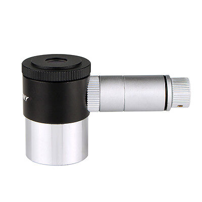 "1.25"" 12.5mm Double-line Crosshair Reticle Illuminated Eyepiece 4Elements FOV US"