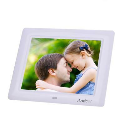"8""HD TFT LCD Digital Photo Frame Picture Clock MP4 Movie Player + Remote Desktop"
