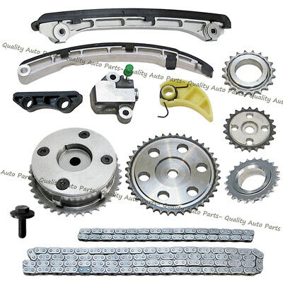 Timing Chain Kit for MAZDA 6 CX-7 2.3L TURBO 2007-2013 with Gears VVT ACUATOR